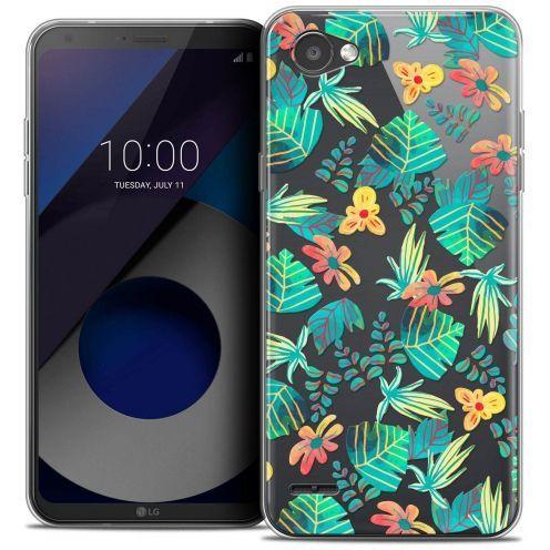 "Coque Crystal Gel LG Q6 (5.5"") Extra Fine Spring - Tropical"