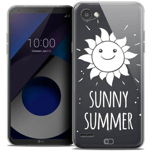 "Coque Crystal Gel LG Q6 (5.5"") Extra Fine Summer - Sunny Summer"