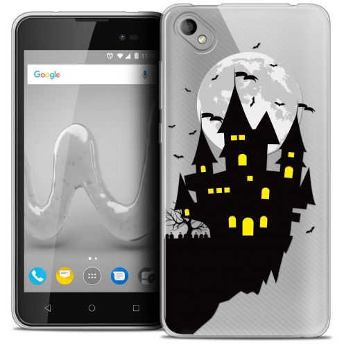 "Coque Crystal Gel Wiko Sunny 2 PLUS (5"") Extra Fine Halloween - Castle Dream"