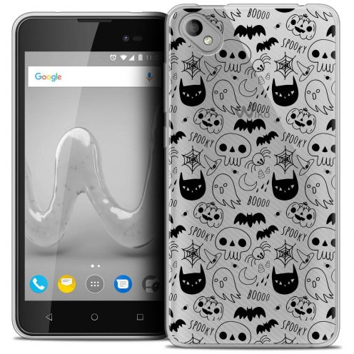 "Coque Crystal Gel Wiko Sunny 2 PLUS (5"") Extra Fine Halloween - Spooky"