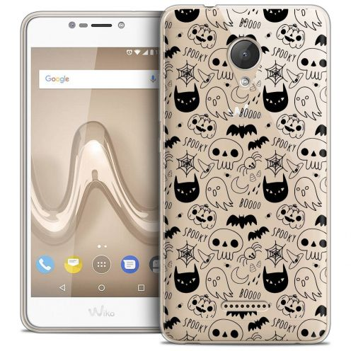 "Coque Crystal Gel Wiko Tommy 2 PLUS (5.5"") Extra Fine Halloween - Spooky"