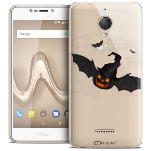 "Coque Crystal Gel Wiko Tommy 2 PLUS (5.5"") Extra Fine Halloween - Chauve Citrouille"