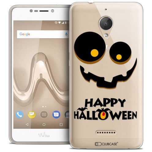 "Coque Crystal Gel Wiko Tommy 2 PLUS (5.5"") Extra Fine Halloween - Happy"