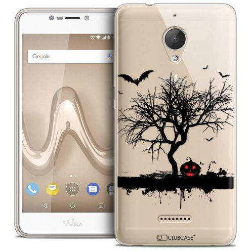 "Coque Crystal Gel Wiko Tommy 2 PLUS (5.5"") Extra Fine Halloween - Devil's Tree"