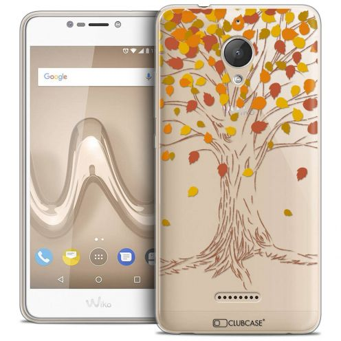 "Coque Crystal Gel Wiko Tommy 2 PLUS (5.5"") Extra Fine Autumn 16 - Tree"