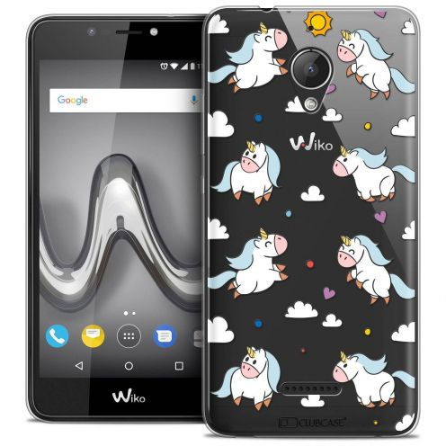 "Coque Crystal Gel Wiko Tommy 2 PLUS (5.5"") Extra Fine Fantasia - Licorne In the Sky"