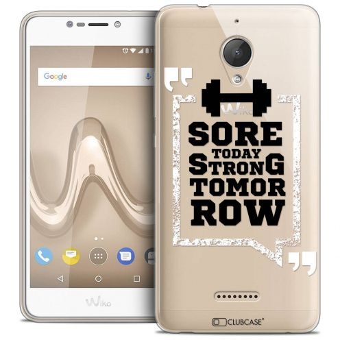 "Coque Crystal Gel Wiko Tommy 2 PLUS (5.5"") Extra Fine Quote - Strong Tomorrow"