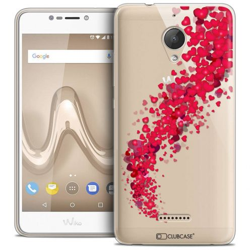 "Coque Crystal Gel Wiko Tommy 2 PLUS (5.5"") Extra Fine Love - Tornado"