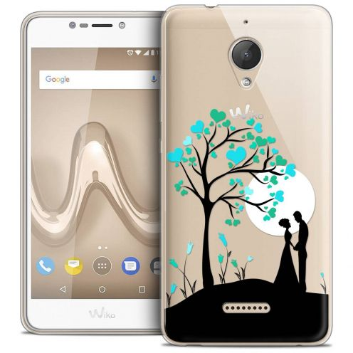 "Coque Crystal Gel Wiko Tommy 2 PLUS (5.5"") Extra Fine Love - Sous l'arbre"