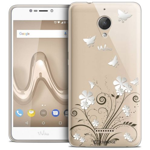 "Coque Crystal Gel Wiko Tommy 2 PLUS (5.5"") Extra Fine Summer - Papillons"