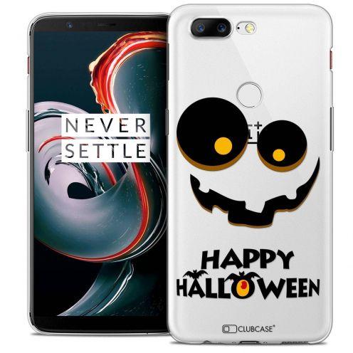 "Coque Crystal Gel OnePlus 5T (6"") Extra Fine Halloween - Happy"