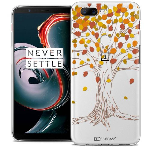 "Coque Crystal Gel OnePlus 5T (6"") Extra Fine Autumn 16 - Tree"