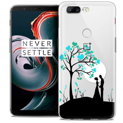 "Coque Crystal Gel OnePlus 5T (6"") Extra Fine Love - Sous l'arbre"