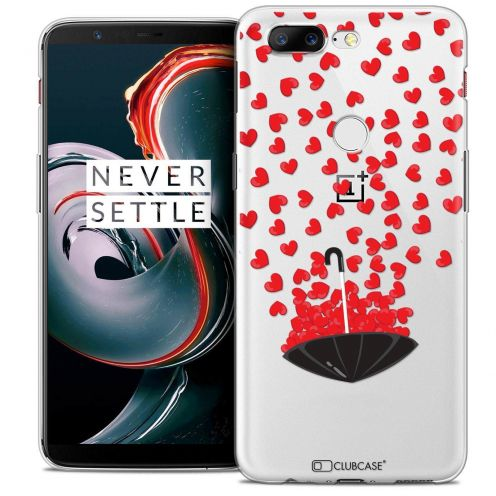 "Coque Crystal Gel OnePlus 5T (6"") Extra Fine Love - Parapluie d'Amour"