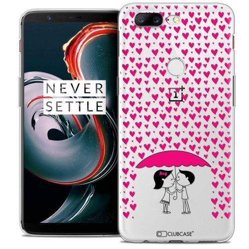 "Coque Crystal Gel OnePlus 5T (6"") Extra Fine Love - Pluie d'Amour"