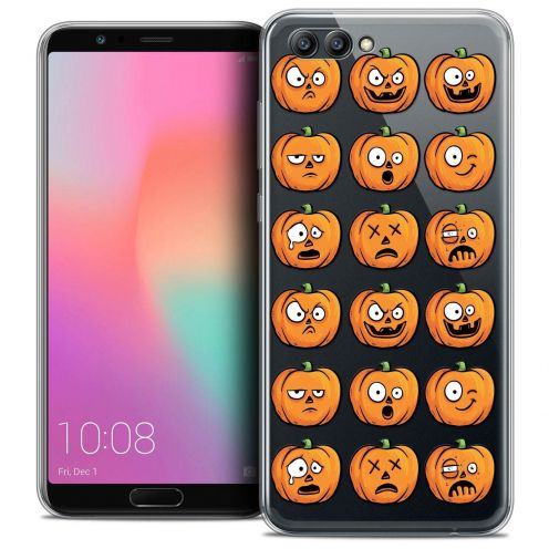 """Coque Crystal Gel Honor View 10 / V10 (6"""") Extra Fine Halloween - Cartoon Citrouille"""