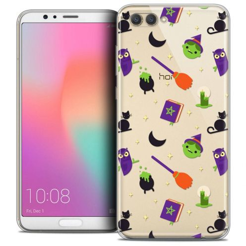 """Coque Crystal Gel Honor View 10 / V10 (6"""") Extra Fine Halloween - Witch Potter"""