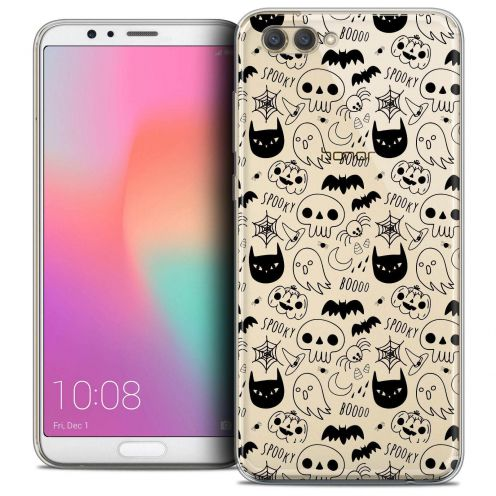 """Coque Crystal Gel Honor View 10 / V10 (6"""") Extra Fine Halloween - Spooky"""