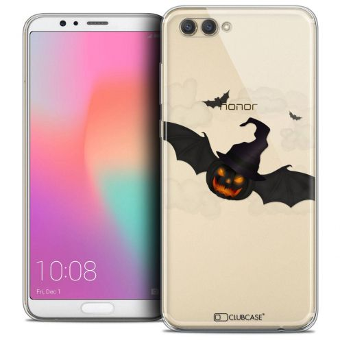 """Coque Crystal Gel Honor View 10 / V10 (6"""") Extra Fine Halloween - Chauve Citrouille"""