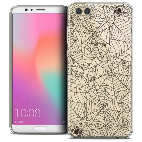 """Coque Crystal Gel Honor View 10 / V10 (6"""") Extra Fine Halloween - Spooky Spider"""