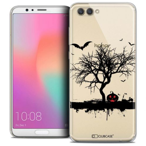 """Coque Crystal Gel Honor View 10 / V10 (6"""") Extra Fine Halloween - Devil's Tree"""