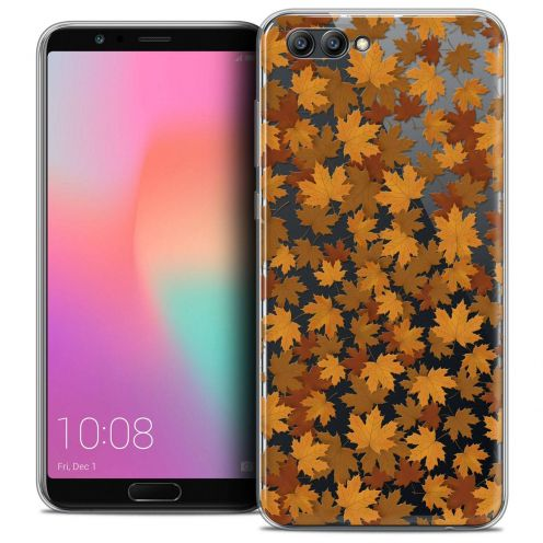 """Coque Crystal Gel Honor View 10 / V10 (6"""") Extra Fine Autumn 16 - Feuilles"""