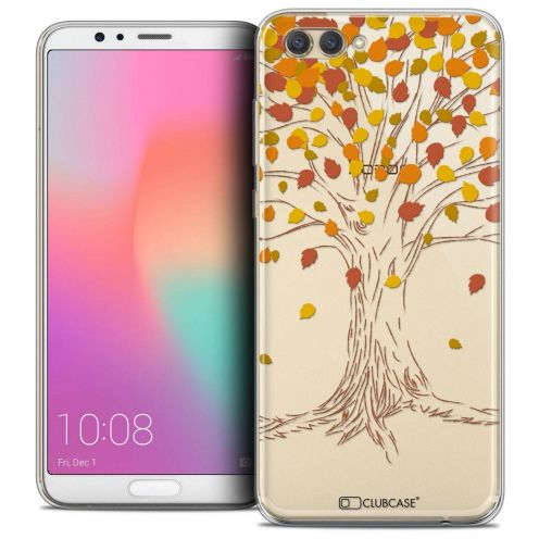 """Coque Crystal Gel Honor View 10 / V10 (6"""") Extra Fine Autumn 16 - Tree"""