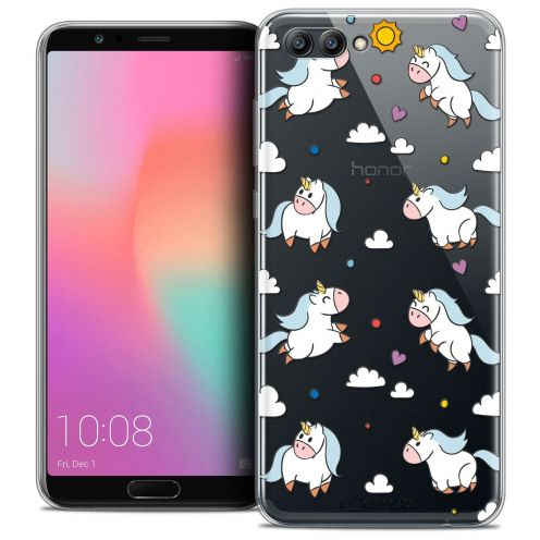 """Coque Crystal Gel Honor View 10 / V10 (6"""") Extra Fine Fantasia - Licorne In the Sky"""