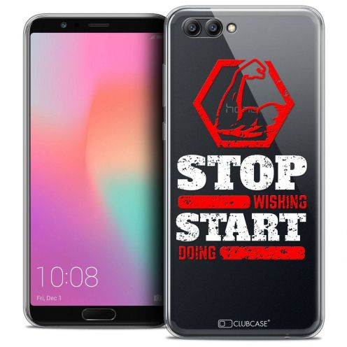 """Coque Crystal Gel Honor View 10 / V10 (6"""") Extra Fine Quote - Start Doing"""