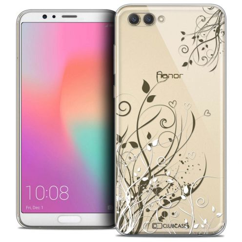 """Coque Crystal Gel Honor View 10 / V10 (6"""") Extra Fine Love - Hearts Flowers"""