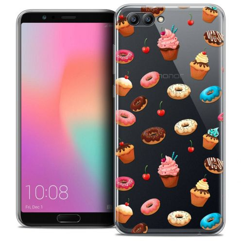 """Coque Crystal Gel Honor View 10 / V10 (6"""") Extra Fine Foodie - Donuts"""
