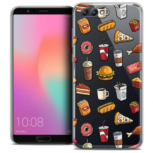 """Coque Crystal Gel Honor View 10 / V10 (6"""") Extra Fine Foodie - Fast Food"""