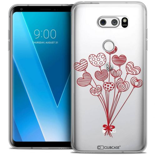 "Coque Crystal Gel LG V30 (6"") Extra Fine Love - Ballons d'amour"