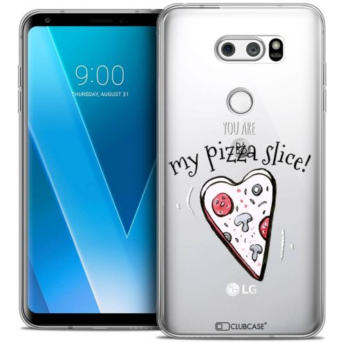 "Coque Crystal Gel LG V30 (6"") Extra Fine Love - My Pizza Slice"