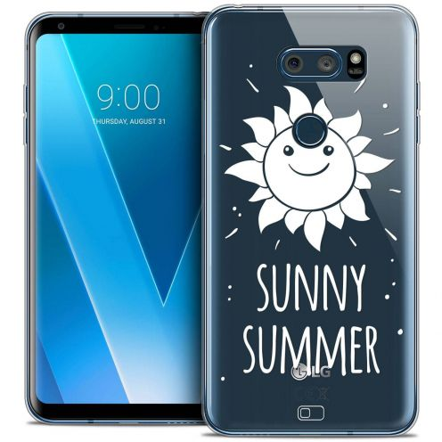 "Coque Crystal Gel LG V30 (6"") Extra Fine Summer - Sunny Summer"
