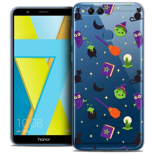 """Coque Crystal Gel Honor 7X (5.9"""") Extra Fine Halloween - Witch Potter"""