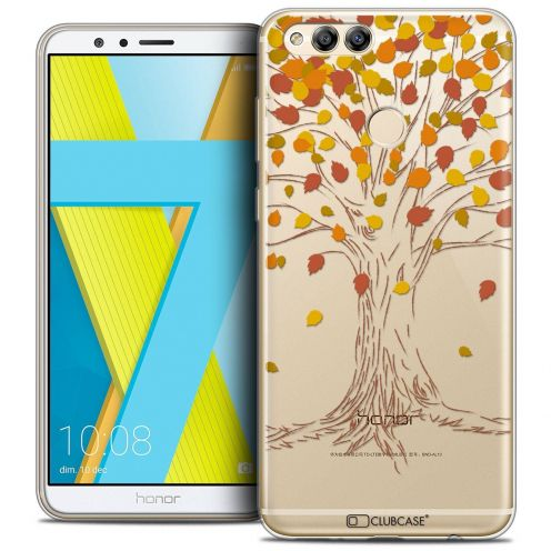"Coque Crystal Gel Honor 7X (5.9"") Extra Fine Autumn 16 - Tree"