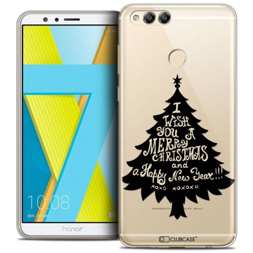 "Coque Crystal Gel Honor 7X (5.9"") Extra Fine Noël 2017 - XOXO Tree"