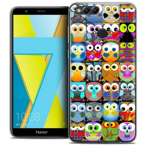 "Coque Crystal Gel Honor 7X (5.9"") Extra Fine Claude - Hibous"