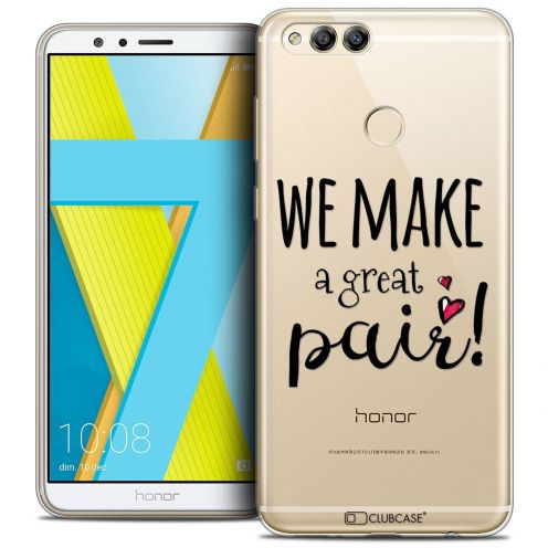 """Coque Crystal Gel Honor 7X (5.9"""") Extra Fine Love - We Make Great Pair"""