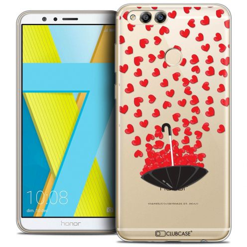 """Coque Crystal Gel Honor 7X (5.9"""") Extra Fine Love - Parapluie d'Amour"""