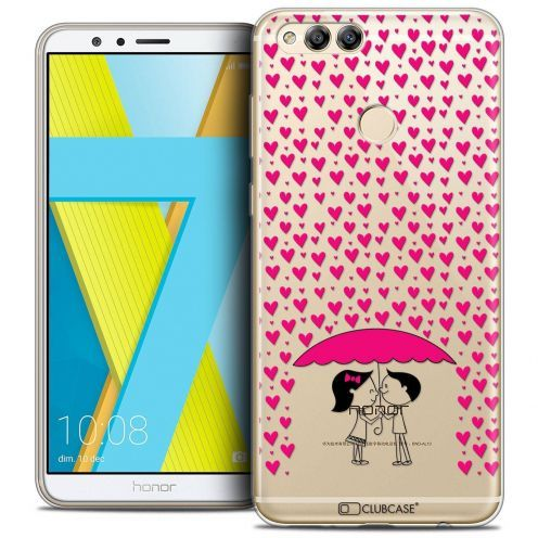 """Coque Crystal Gel Honor 7X (5.9"""") Extra Fine Love - Pluie d'Amour"""
