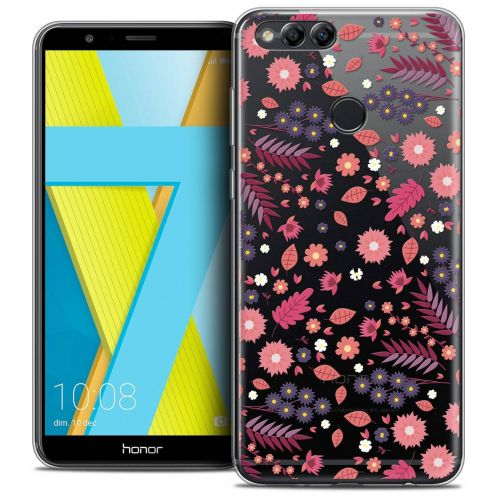 "Coque Crystal Gel Honor 7X (5.9"") Extra Fine Spring - Printemps"