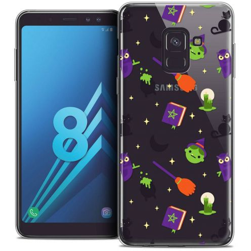 "Coque Crystal Gel Samsung Galaxy A8 (2018) A530 (5.6"") Extra Fine Halloween - Witch Potter"