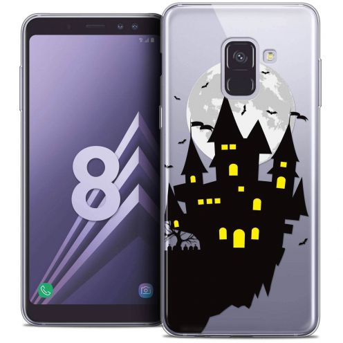 "Coque Crystal Gel Samsung Galaxy A8 (2018) A530 (5.6"") Extra Fine Halloween - Castle Dream"