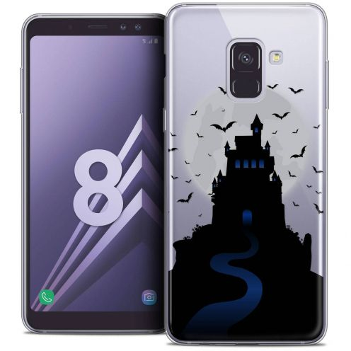 "Coque Crystal Gel Samsung Galaxy A8 (2018) A530 (5.6"") Extra Fine Halloween - Castle Nightmare"