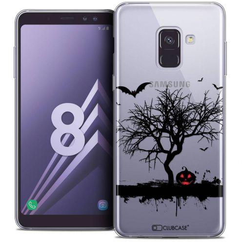 """Coque Crystal Gel Samsung Galaxy A8 (2018) A530 (5.6"""") Extra Fine Halloween - Devil's Tree"""