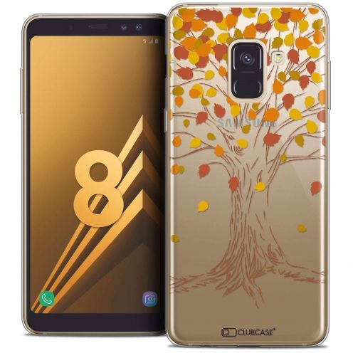 "Coque Crystal Gel Samsung Galaxy A8 (2018) A530 (5.6"") Extra Fine Autumn 16 - Tree"
