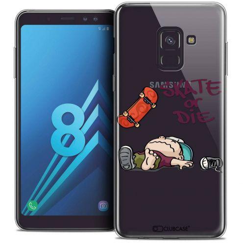 """Coque Crystal Gel Samsung Galaxy A8 (2018) A530 (5.6"""") Extra Fine BD 2K16 - Skate Or Die"""