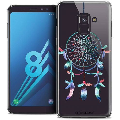 "Coque Crystal Gel Samsung Galaxy A8 (2018) A530 (5.6"") Extra Fine Dreamy - Attrape Rêves Rainbow"